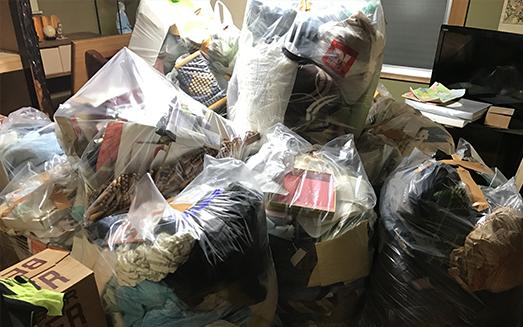 リサイクル大阪本店/ゴミの片付け